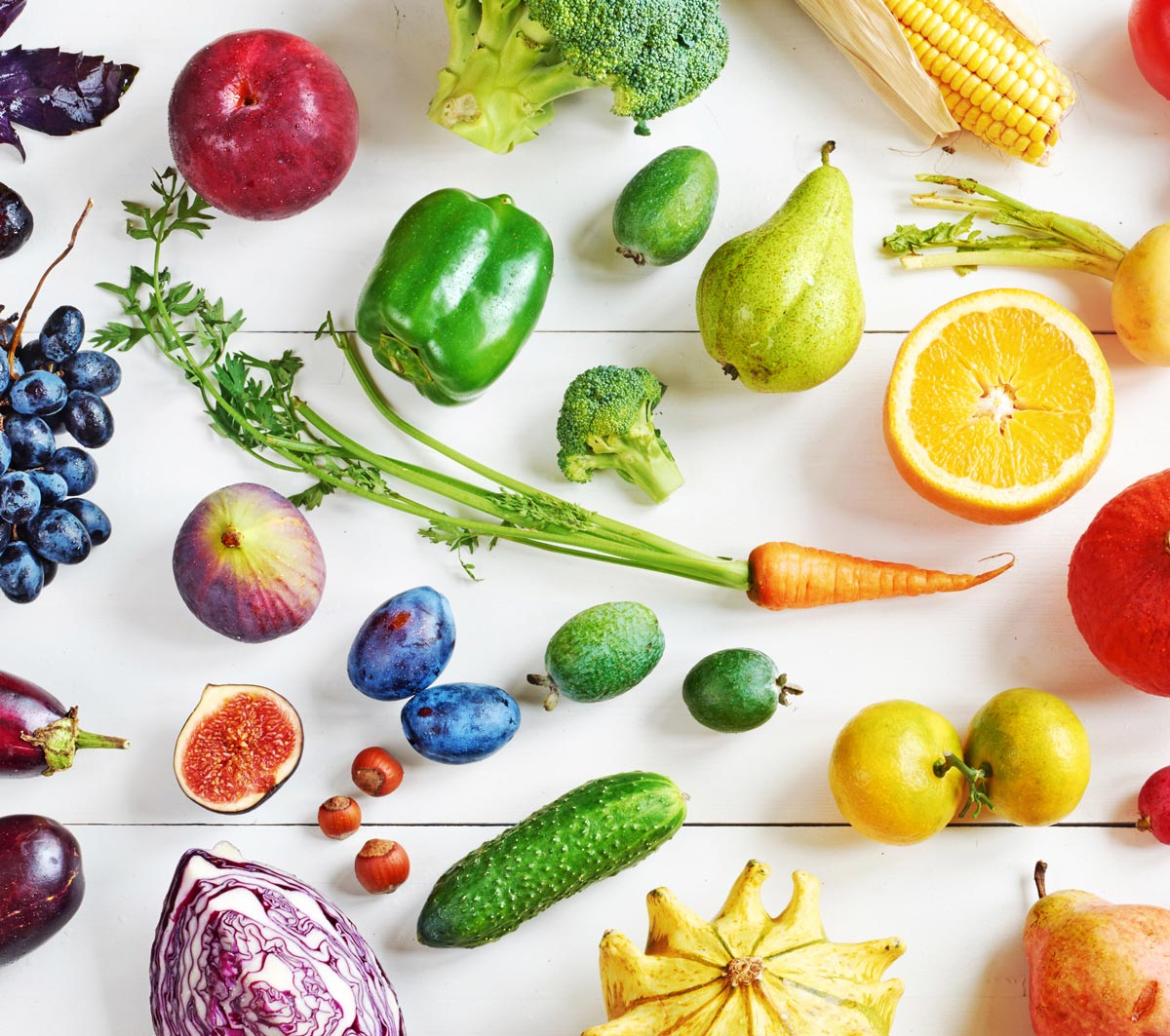 colorful antioxidant foods