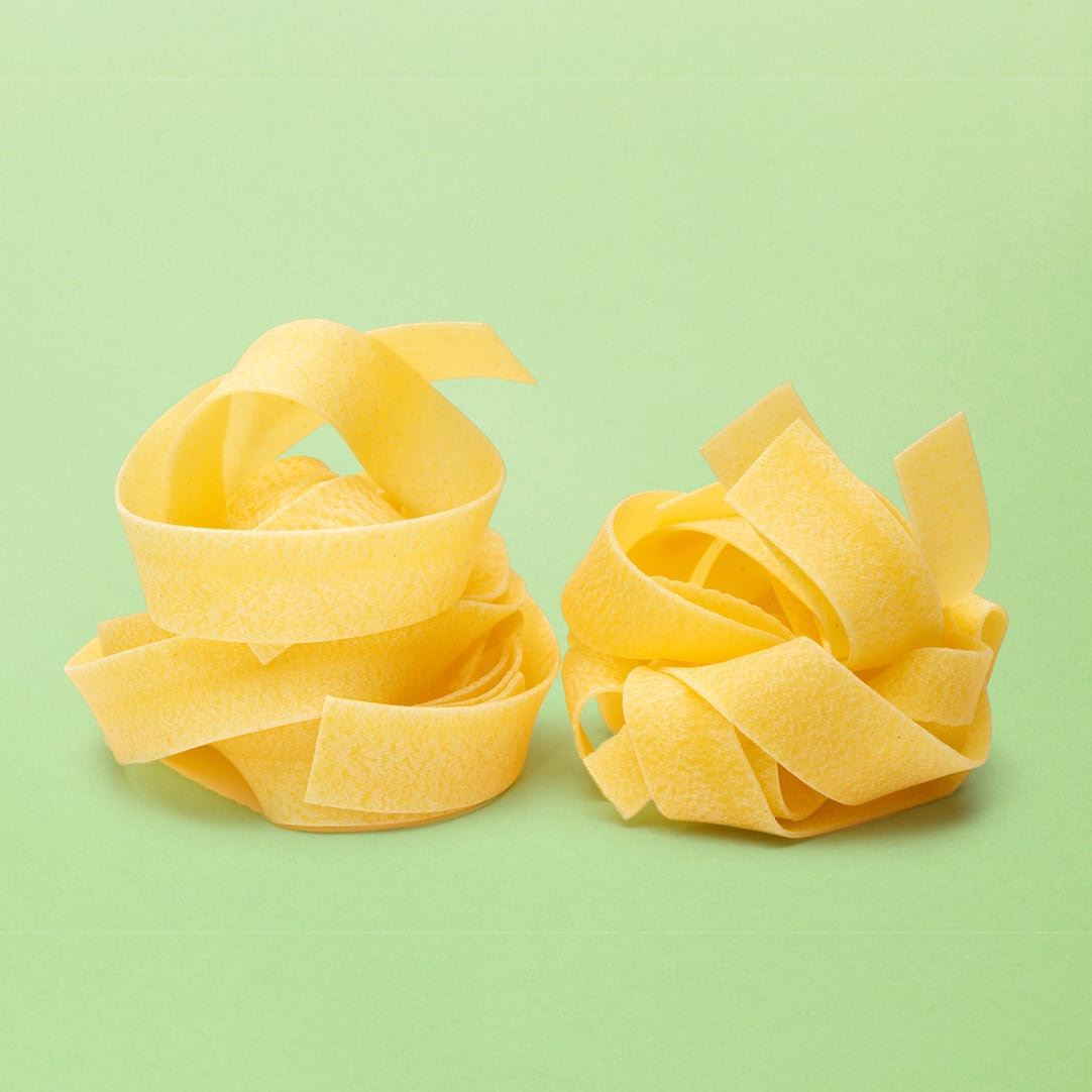 Type of pasta pappardelle pasta