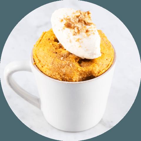 Pumpkin Spice Muffin with Coconut Yogurt