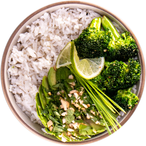 Cashew Avocado with Broccoli & UNCLE BEN'S® READY RICE® Basmati Rice