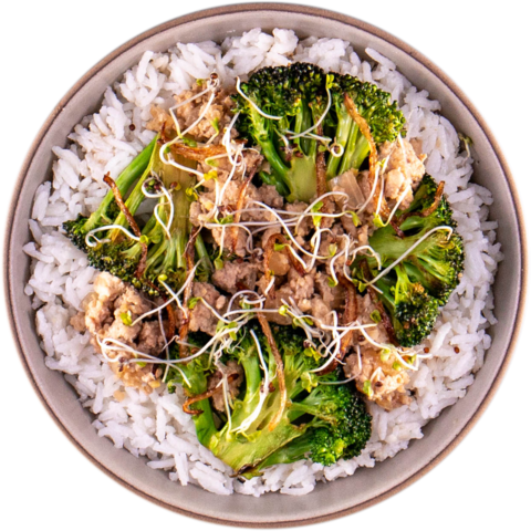Asian Spiced Turkey with Broccoli  & UNCLE BEN'S® READY RICE® Original Long Grain