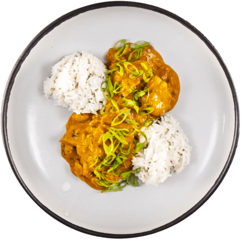 Creamy Chicken Curry with UNCLE BEN'S® READY RICE® Basmati Rice
