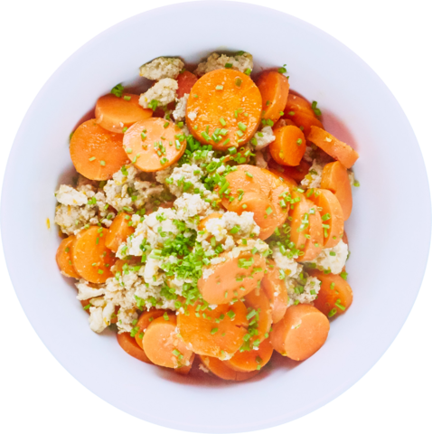 Carrot Turkey Bowl with UNCLE BEN'S® READY RICE® Long Grain & Wild