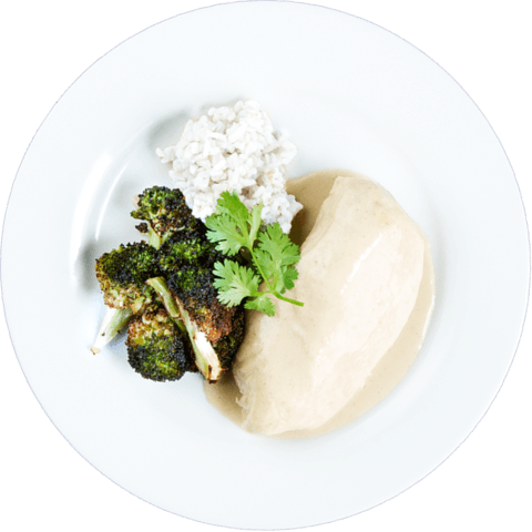 Thai Green Curry Chicken with Broccoli & UNCLE BEN'S® READY RICE® Basmati Rice