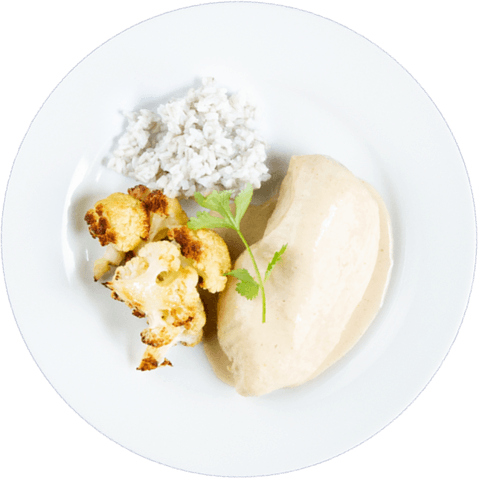 Green Curry Chicken with Cauliflower & UNCLE BEN'S® READY RICE® Original Long Grain