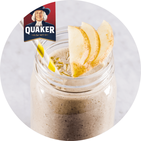 Quaker Oats Apple Pie Smoothie with Yogurt