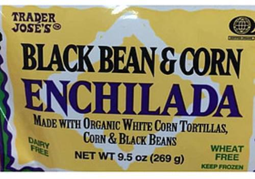 Trader Jose's Black Bean & Corn Enchilada - 135 g