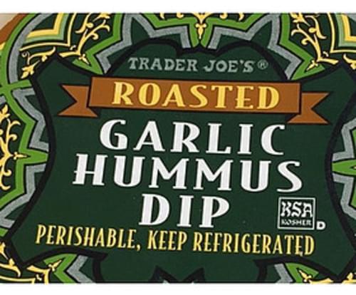 Trader Joe's Roasted Garlic Hummus Dip - 30 g
