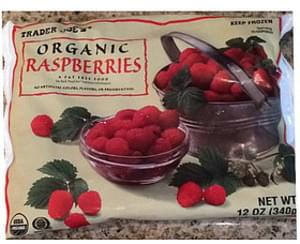Trader Joe's Organic Raspberries