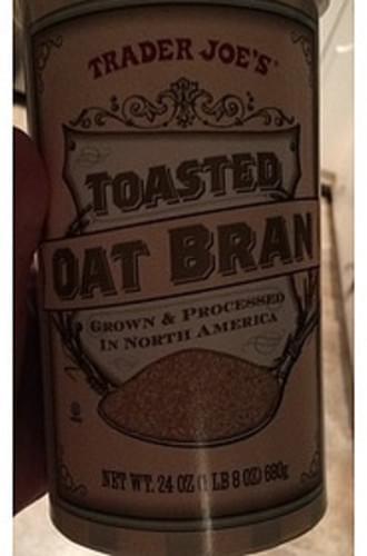 Trader Joe's Toasted Oat Bran - 40 g