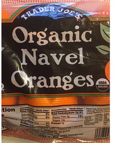 Trader Joe's Organic Navel Oranges - 140 g