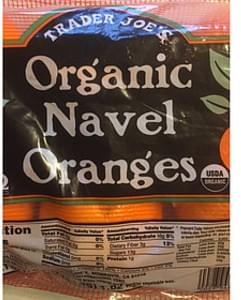 Trader Joe's Organic Navel Oranges