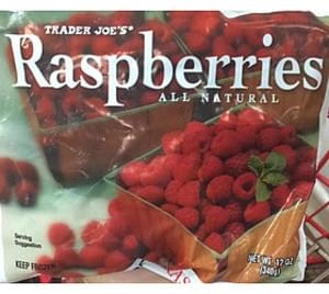 Trader Joe's Raspberries All Natural