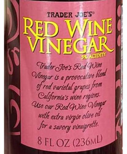Trader Joe's Red Wine Vinegar - 15 ml