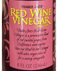 Trader Joe's Red Wine Vinegar