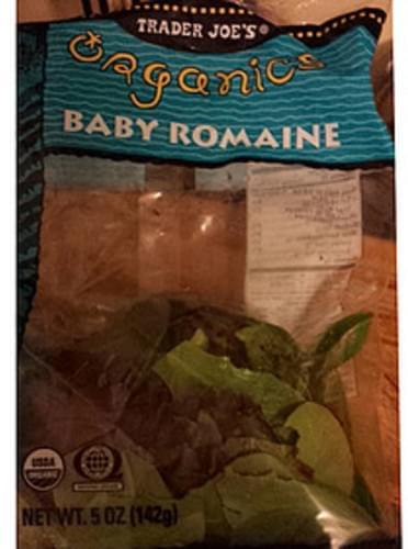 Trader Joe's Baby Romaine - 85 g