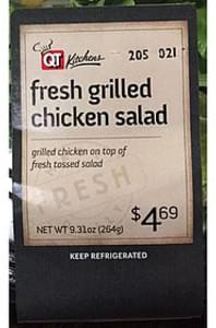 QT Kitchens Salad Grilled Chicken