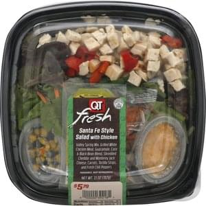 Qt Fresh Salad with Chicken, Santa Fe Style