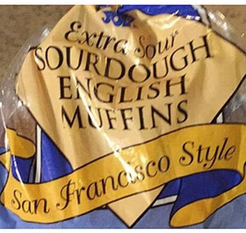 Trader Joe's San Francisco Style Sourdough English Muffins - 57 g