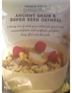 Trader Joe's Ancient Grain & Super Seed Oatmeal