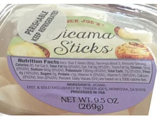 Trader Joe's Jicama Sticks - 85 g