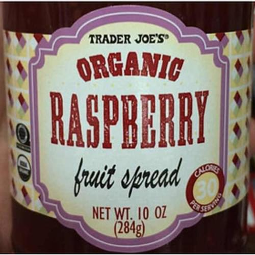 Trader Joe's Organic Raspberry Fruit Spread - 18 g