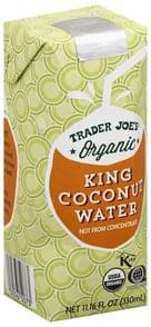 Trader Joes King Coconut Water Organic