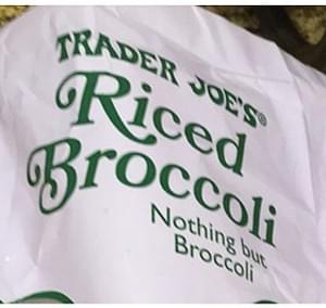Trader Joe's Riced Broccoli