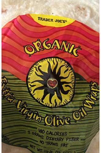 Trader Joe's Extra Virgin Olive Oil Wraps - 68 g