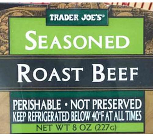 Trader Joe's Seasoned Roast Beef - 56 g