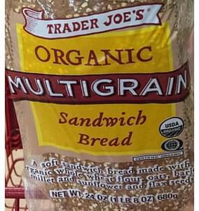 Trader Joe's Organic Multigrain Sandwich Bread