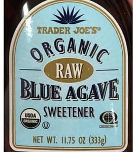 Trader Joe's Organic Raw Blue Agave Sweetener