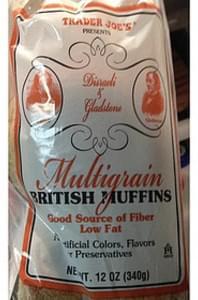 Trader Joe's Multigrain British Muffins