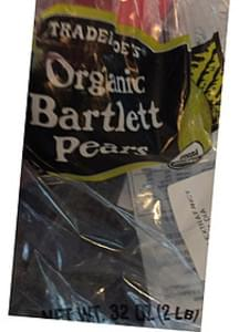 Trader Joe's Bartlett Pears