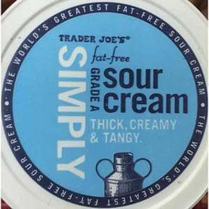 Trader Joe's Simply Fat-free Grade A Sour Cream