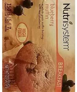 Nutrisystem Breakfast Blueberry Muffin