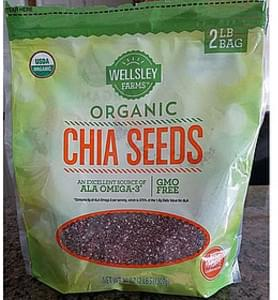 Wellsley Farms Organic Chia Seeds