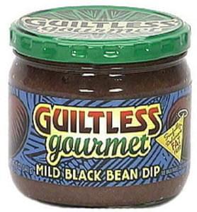 Guiltless Gourmet Mild Black Bean Dip Fat Free