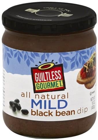 Guiltless Gourmet Mild Black Bean Dip - 16 oz