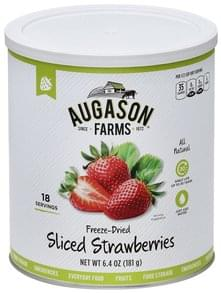 Augason Farms Strawberries Freeze-Dried, Sliced