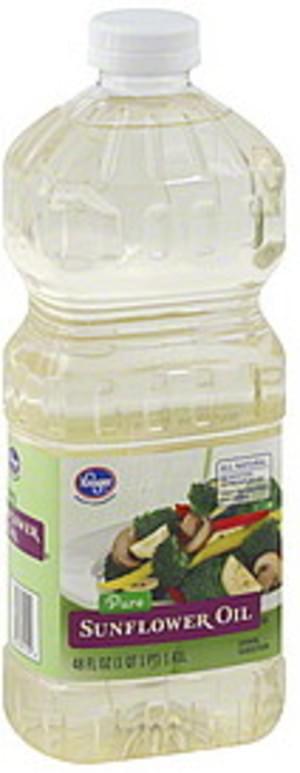 Kroger Pure Sunflower Oil - 48 oz