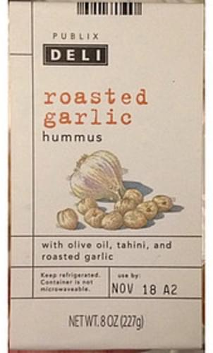Publix Roasted Garlic Hummus - 29 g