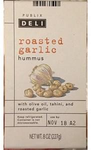 Publix Roasted Garlic Hummus