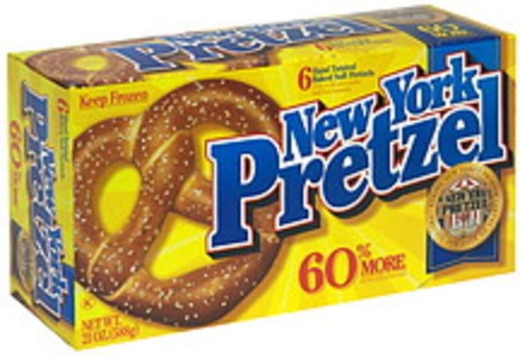 New York Pretzel Hand Twisted Baked Soft Pretzels - 21 oz