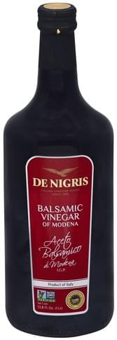 De Nigris of Modena Balsamic Vinegar - 33.8 oz