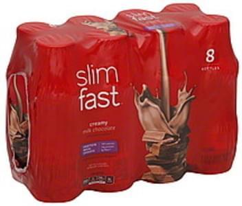 SlimFast Protein Meal Shakes Creamy Milk Chocolate