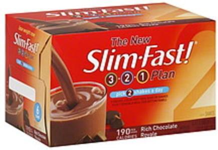 SlimFast Shakes Rich Chocolate Royale