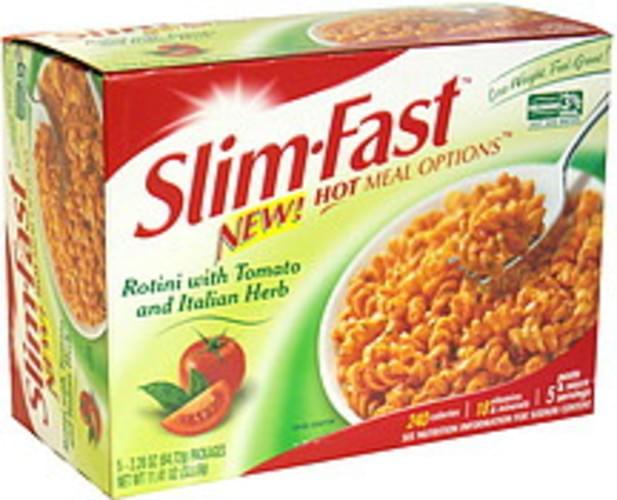 SlimFast Rotini with Tomato and Italian Herb - 5 ea
