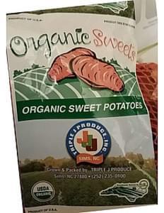 Triple J Produce Organic Sweet Potatoes