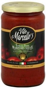 Vito Marcello Marinara Sauce Tomato Basil